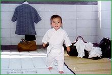 Shinichi Tohei Sensei Ki Aikido baby