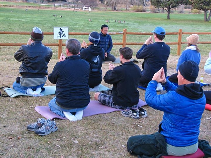 Ki Meditation in Estes Park Kashiwaya Sensei