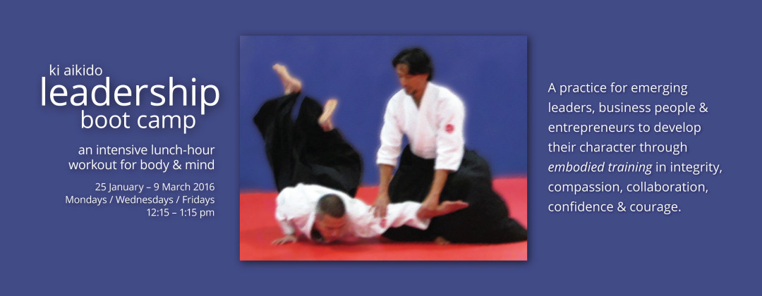 Boulder Ki Aikido Leadership Training Boot Camp