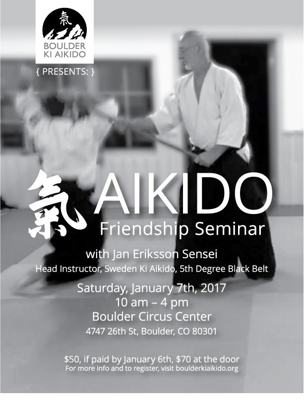 Jan Eriksson Sensei Sweden Ki Aikido