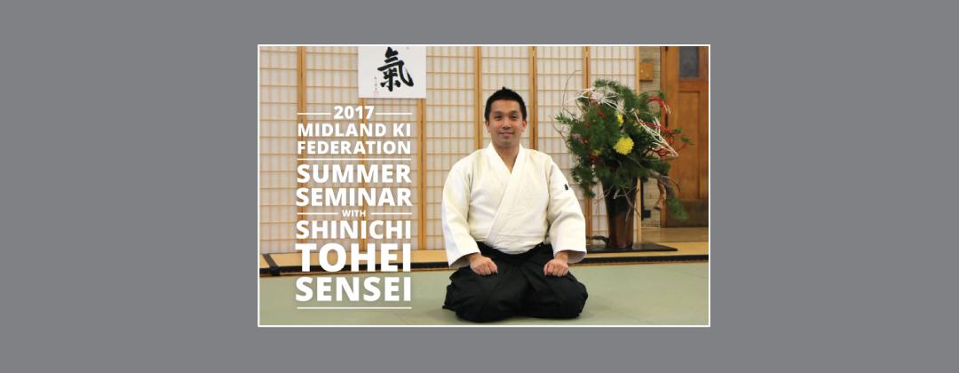Shinichi Tohei Sensei 2017 Midland Ki Federation Summer Seminar