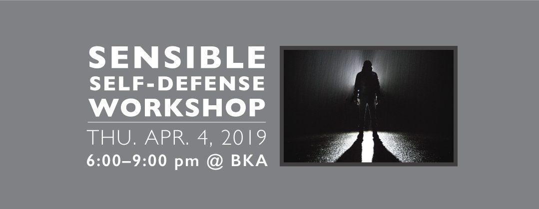 Sensible Self Defense Workshop Boulder CO