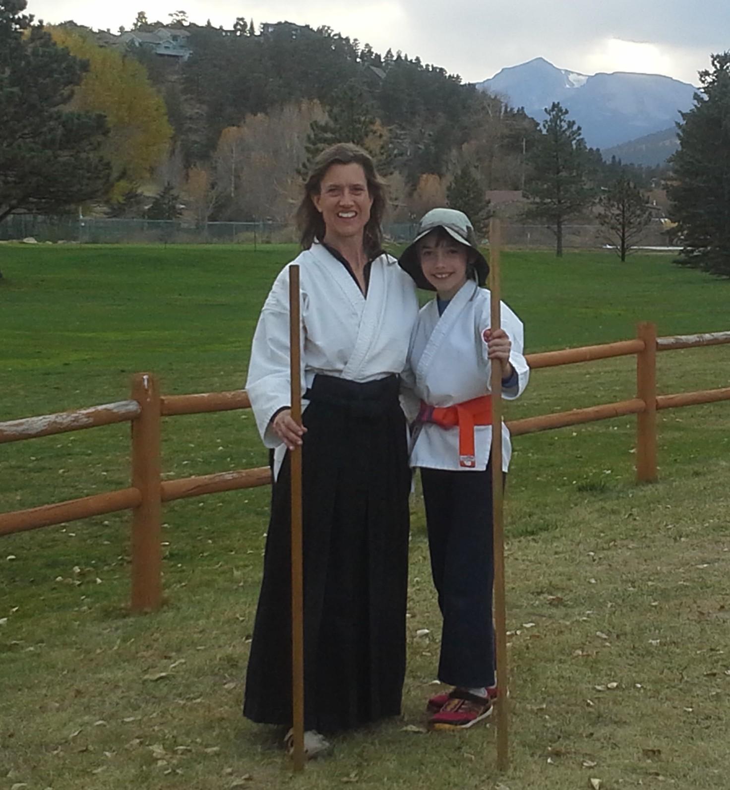 Child Parent Ki Aikido in Estes Park