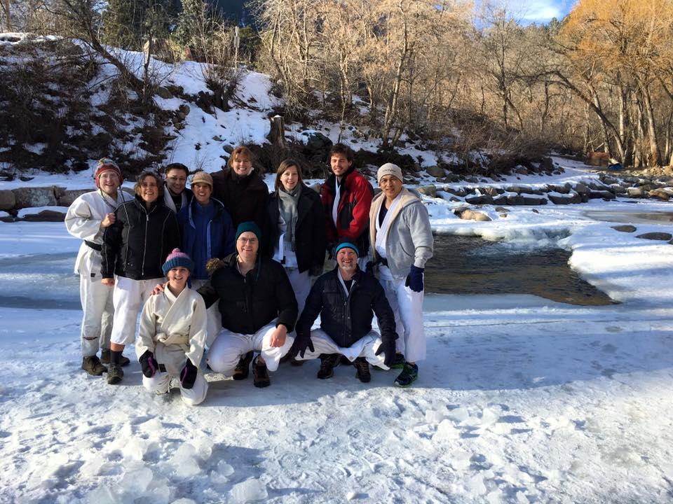 River Misogi Boulder Colorado 17 Jan 2016 02