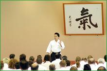 Shinichi Tohei Sensei Teaching