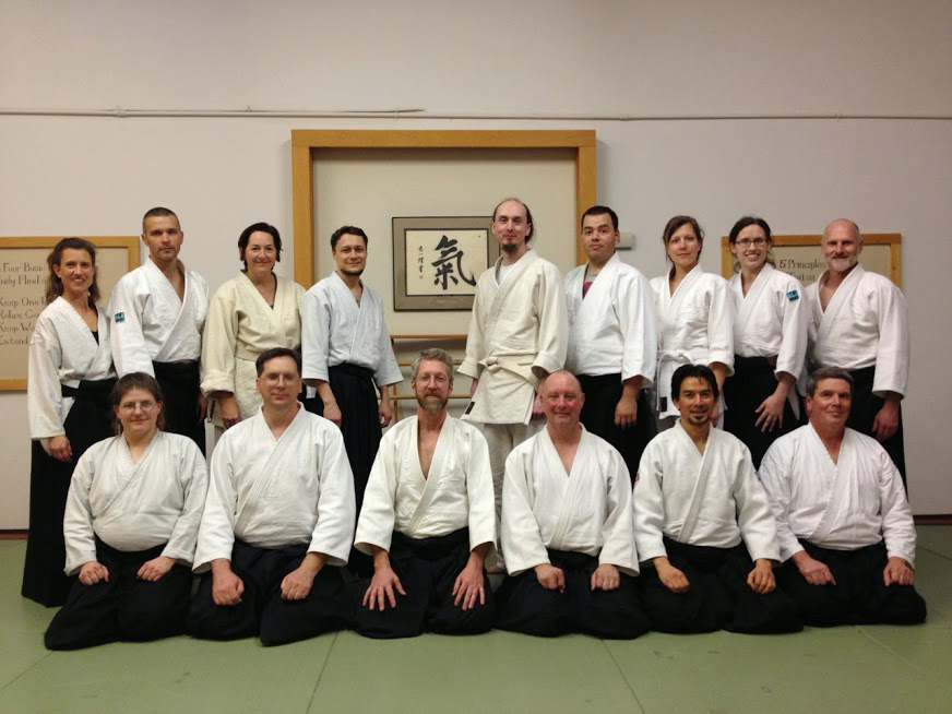 Russell Jones Lael Keen Boulder Ki Aikido Workshop 2015