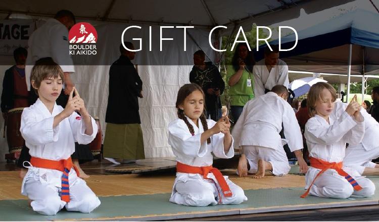 Ki Aikido Gift Card