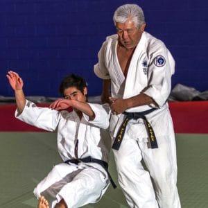Ron Abo Sensei Tomiki Aikido