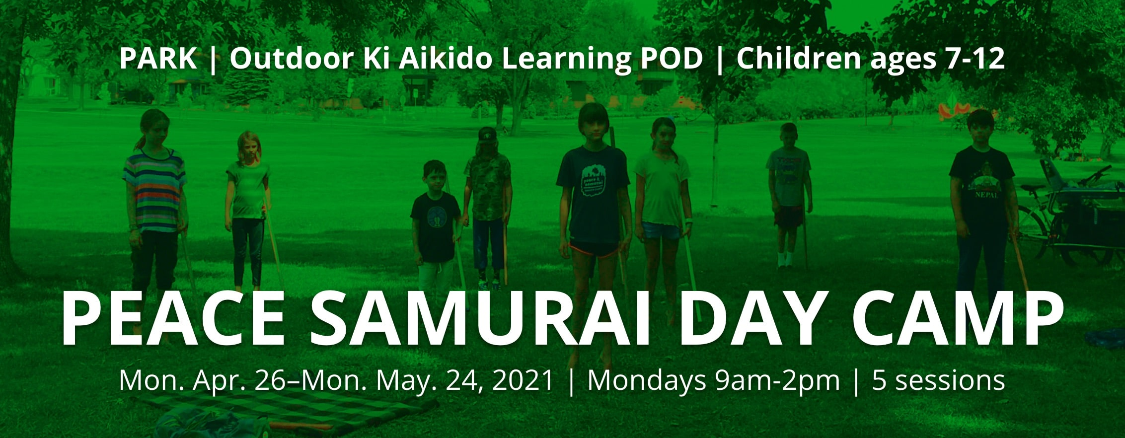 sign up for children's aikido outdoors boulder